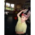 Modelling a Reindeer hat
