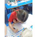 Using a 100 square to count up in 5s and 10s. (Week 2)