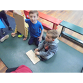 Week 4: We tested different materials for slipperiness smoothness.