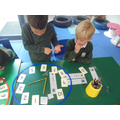 Week 5: We looked at telling the time to an hour and half past the hour.