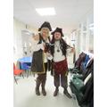 Captain Hook meets Pirate Loves Underpants Captain