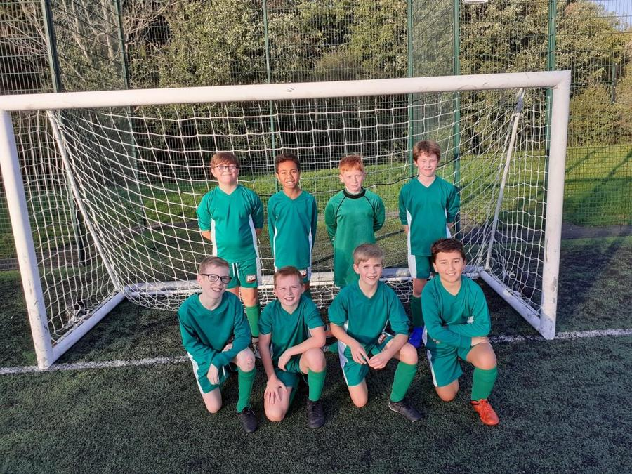 Year 6 Football Team 2019