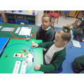 Week 3: We looked at sharing different amounts between 2 people.