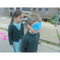 Week 3: We used directional language to help our friends through a maze.
