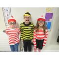 Where's the Wally, Waldo and Wanda