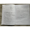 Look at this really long letter by Zac!