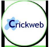 Image result for crickweb logo