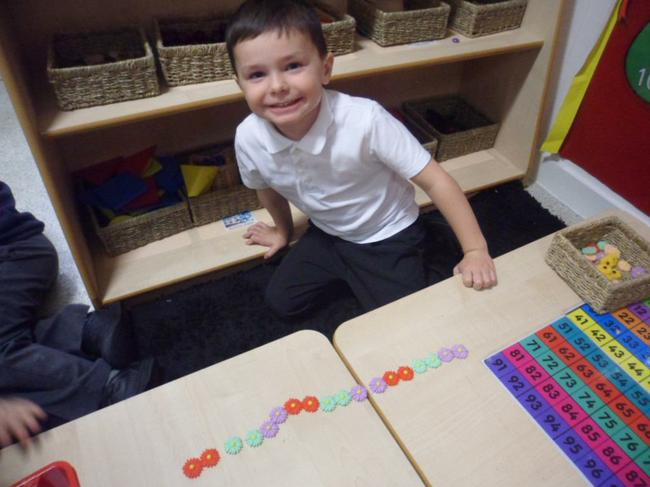 Making repeating patterns with objects