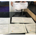 Alannas IXL certificates.JPG