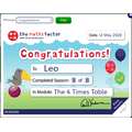 Leo you are a maths star!