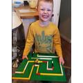Oliver's Lego Maze.JPG