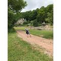 Michael enjoying long walks.png