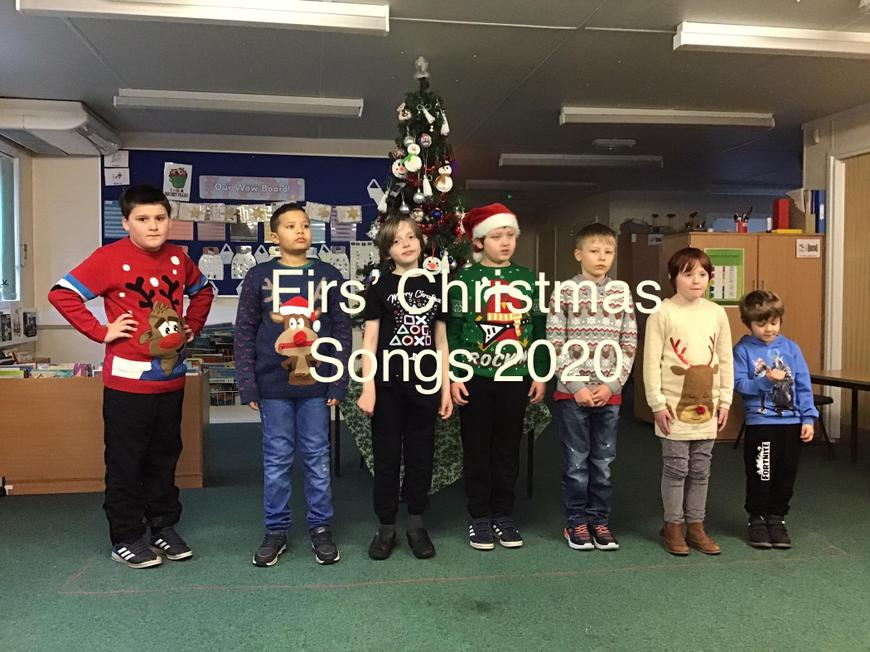 Please click on the link below to see a video of our Christmas songs