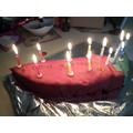 James's fab cake!