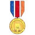 Ava's medal