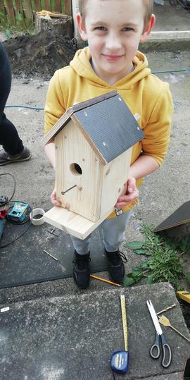 Brilliant bird house!