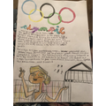 Lexie's lovely Olympic work