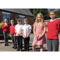 Elms Learning Behaviour Pin Badges award