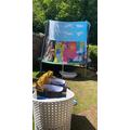Matthew's great ideas for a bouncy den!