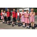 Beeches Learning Behaviour Pin Badges award