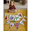 Sienna's VE Decorations.JPG