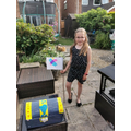 Mollie's treasure chest and flag.jpg