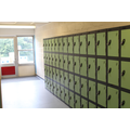 All the cloakrooms were refurbished and lockers introduced.