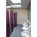 Grown up refurbished toilets for our older children.