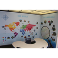 The working area in Key Stage One now supports the teaching of Geography across the school