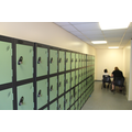 Key Stage Two children have lockers.