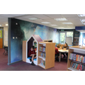 The Key Stage Two Library has been further refurbished with our magical theme!