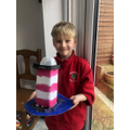 Finley's Lighthouse Lamp. Brilliant!