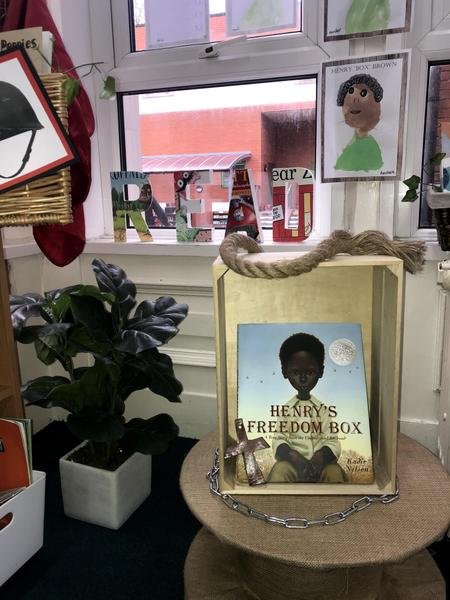 Year 2 have read 'Henry's Freedom Box' and have discussed themes of hope and aspirations.