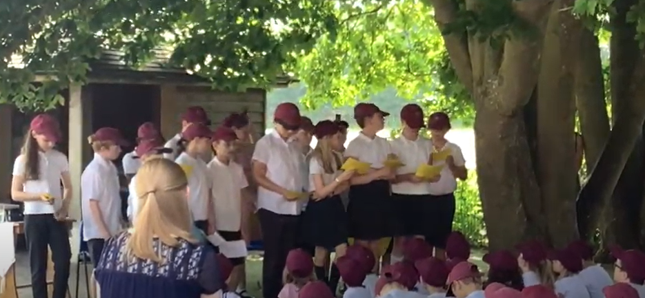 Click on the link below for clips of our joyful and moving Outdoor Worship