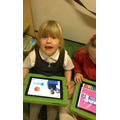 Using technology to help with phonics.