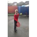 Ball skills.