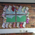 Home learning - design a stocking.