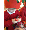 Busy in the elf workshop.