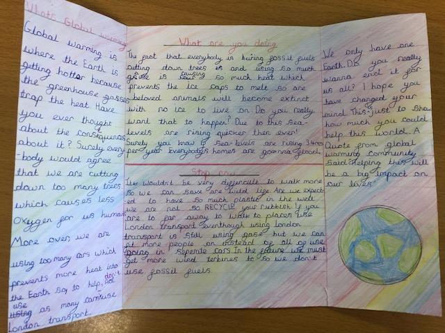 Our persuasive leaflets to save the Polar Regions