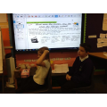 In Topic, we did some fantastic drama about the Viking raid on Lindisfarne.