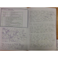 In topic, we wrote a setting description about our own chocolate factories.