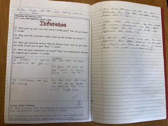 Imogen G - literacy skills