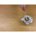 In topic this week, we melted chocolate to show reversible changes.