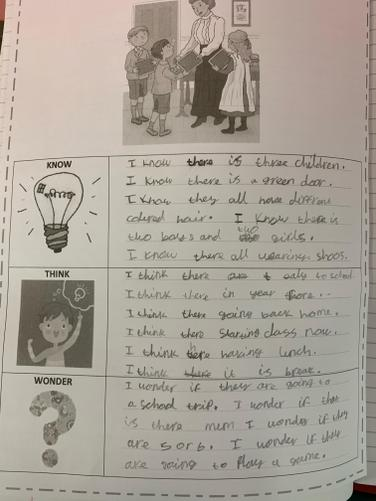 In Literacy Skills, we have started a new text called 'The Village School'.