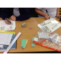 In maths this week we have been learning about square numbers.