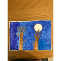 For World Book Day, we read 'The Lost Happy Endings' and created artwork.