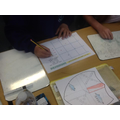 We learned how to use 4 and 6 figure grid references on maps.