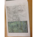 In Topic, we re-created works of art by Monet using our sketching skills.