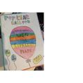 For PSHE, we made posters to advertise our own charity projects.