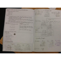In maths, we have been using the column method for multiplication.